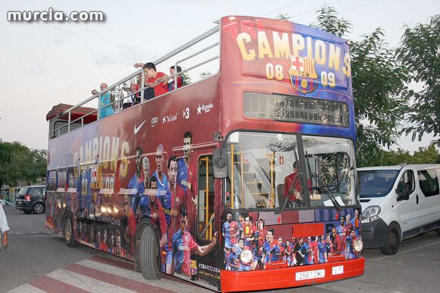 La Liga, la Copa y la ´Champions´ se exhiben por la Región de Murcia, Foto 2