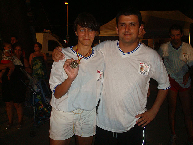 Pedro Ruiz y Rosa María Hernández, del Club Atletismo Totana, subieron al podium en la XVI carrera nocturna de Mazarrón, Foto 3