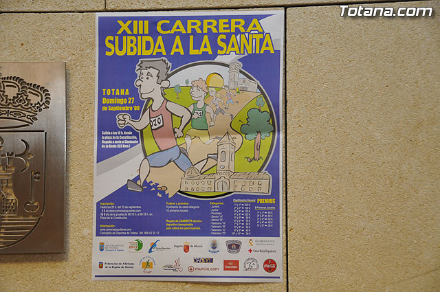 """La XIII carrera """"Subida a La Santa"""" se celebrará el domingo 27 de septiembre con un recorrido de 8,5 kilómetros, Foto 3"""
