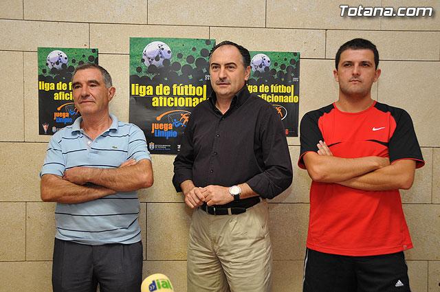 """La nueva temporada 2009-2010 de la Liga de Fútbol Aficionado """"Juega Limpio"""" abre su plazo de inscripción, Foto 1"""