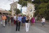 Majada despide sus fiestas con misa y procesión en honor a la Virgen