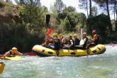 La concejalía de Deportes organiza un fin de semana de aventura con actividades de rafting, piragüismo y descenso de barrancos