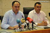 El portavoz del Equipo de Gobierno y el Alcalde de Totana ofrecieron una rueda de prensa