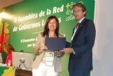 La concejal de Medio Ambiente recibe en Guadalajara el premio del concurso estatal El Incremento de la biodiversidad