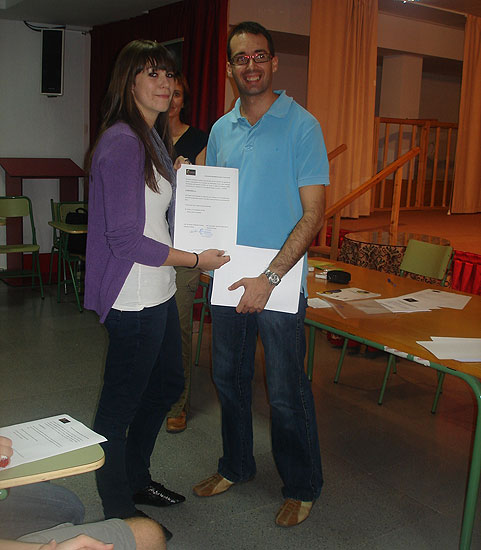 Acto de difusión del voluntariado en enfermedades raras en el IES Juan de la Cierva, Foto 4