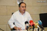 El portavoz del equipo de Gobierno, José Antonio Valverde Reina, dio cuenta de los acuerdos adoptados en Junta de Gobierno y de la actualidad política