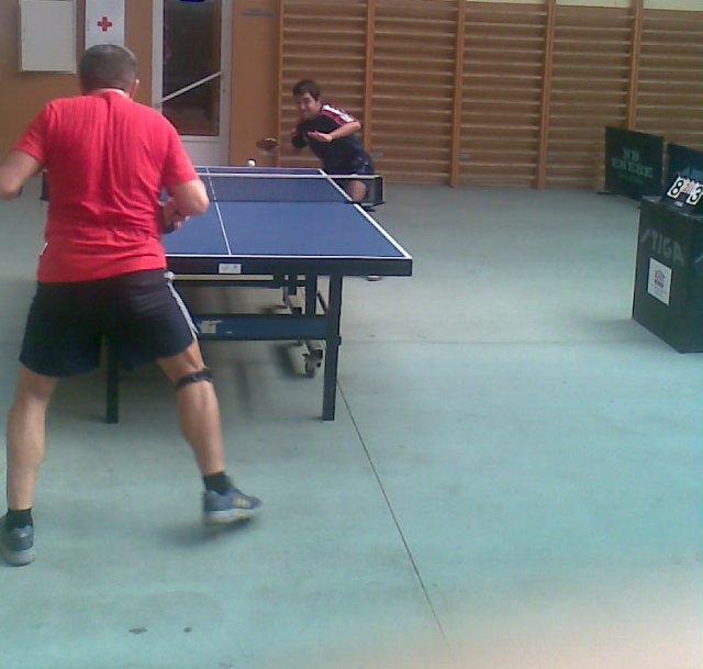 Tenis de Mesa. 2 partidos amistosos en Garrucha, Foto 1