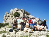 Más de una veintena de senderistas participan en la segunda jornada de senderismo 2009-2010