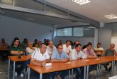 Autoridades municipales asisten a la Asamblea General de la Asociación de Transportistas del Bajo Guadalentín