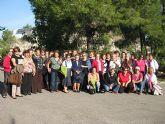 Las mujeres de Alhama disfrutan de un taller sobre productos naturales