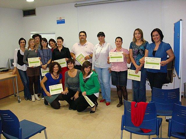 El Aula Ciudadana clausura su primer curso de formación sobre la Elaboración de proyectos sociales, Foto 1