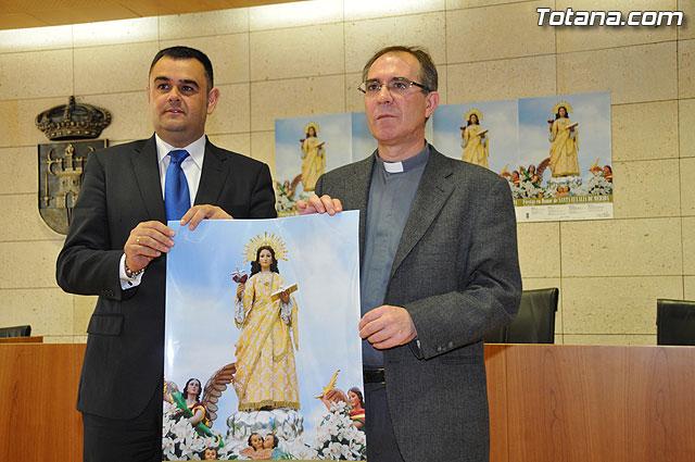 Presentado el programa de actos religiosos de las fiestas de Santa Eulalia 2009, Foto 1
