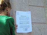 Alcaldía pide a los vecinos en un bando que se sumen a las reivindicaciones del sector de la agricultura