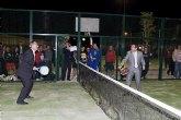 González Tovar y Francisco Blaya inauguran las nuevas instalaciones deportivas en Mazarrón