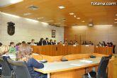 Alumnos de varios centros educativos de Totana alzan su voz y proclaman sus derechos en el sal�n de plenos del ayuntamiento - 10