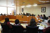 Alumnos de varios centros educativos de Totana alzan su voz y proclaman sus derechos en el sal�n de plenos del ayuntamiento - 32