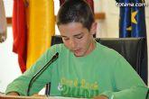Alumnos de varios centros educativos de Totana alzan su voz y proclaman sus derechos en el sal�n de plenos del ayuntamiento - 44