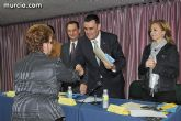 El alcalde entrega el carn� de voluntario de honor de Totana al consejero de Pol�tica Social, Mujer e Inmigraci�n, Joaqu�n Bascuñana - 20