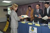El alcalde entrega el carn� de voluntario de honor de Totana al consejero de Pol�tica Social, Mujer e Inmigraci�n, Joaqu�n Bascuñana - 15