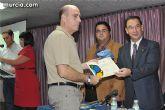El alcalde entrega el carn� de voluntario de honor de Totana al consejero de Pol�tica Social, Mujer e Inmigraci�n, Joaqu�n Bascuñana - 18
