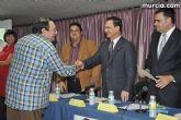 El alcalde entrega el carn� de voluntario de honor de Totana al consejero de Pol�tica Social, Mujer e Inmigraci�n, Joaqu�n Bascuñana - 19