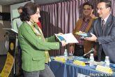 El alcalde entrega el carn� de voluntario de honor de Totana al consejero de Pol�tica Social, Mujer e Inmigraci�n, Joaqu�n Bascuñana - 24