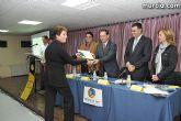 El alcalde entrega el carn� de voluntario de honor de Totana al consejero de Pol�tica Social, Mujer e Inmigraci�n, Joaqu�n Bascuñana - 28
