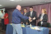 El alcalde entrega el carn� de voluntario de honor de Totana al consejero de Pol�tica Social, Mujer e Inmigraci�n, Joaqu�n Bascuñana - 32