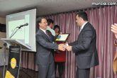 El alcalde entrega el carn� de voluntario de honor de Totana al consejero de Pol�tica Social, Mujer e Inmigraci�n, Joaqu�n Bascuñana - 54