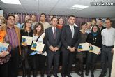 El alcalde entrega el carn� de voluntario de honor de Totana al consejero de Pol�tica Social, Mujer e Inmigraci�n, Joaqu�n Bascuñana - 60
