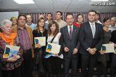 El alcalde entrega el carn� de voluntario de honor de Totana al consejero de Pol�tica Social, Mujer e Inmigraci�n, Joaqu�n Bascuñana - 62
