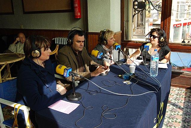 """La emisora """"Cadena Ser-Murcia"""" promociona las fiestas patronales en honor a Santa Eulalia y las tradiciones del municipio, Foto 1"""