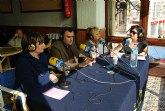 """La emisora """"Cadena Ser-Murcia"""" promociona las fiestas patronales en honor a Santa Eulalia y las tradiciones del municipio"""
