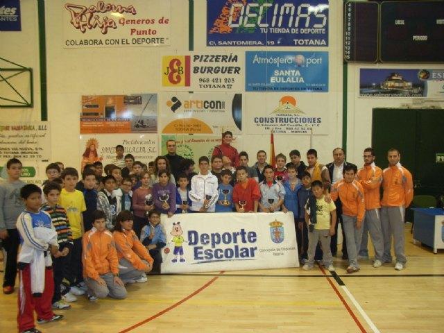 Un total de 90 escolares participan en el Torneo Escolar de Tenis de Mesa, Foto 3