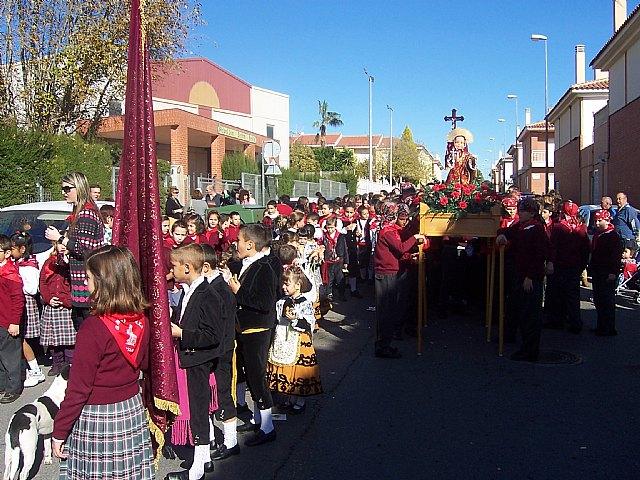 """Los alumnos de los colegios """"Reina Sofía"""" y """"Santa Eulalia"""" celebran sendas romerías en honor a la patrona, Foto 3"""