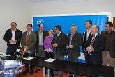 Los alcaldes y portavoces del PP del Guadalent�n a�nan sus fuerzas