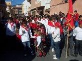 """Los alumnos de los colegios """"Reina Sofía"""" y """"Santa Eulalia"""" celebran sendas romerías en honor a la patrona"""