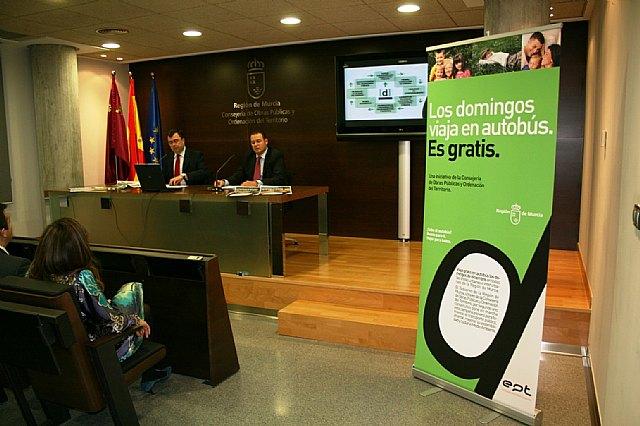 Mañana comienza 'Eldíade' y viajar en autobús será gratis en los 45 municipios de la Región, Foto 1
