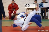 Christian Albaladejo y Pablo Guerrero cuajaron una buena actuación en el Torneo Cadete de Judo