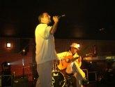 Los grupos totaneros En Blanco y Negro y Funky Mufasa, ganadores del Crearte joven 2009, en la modalidad de música