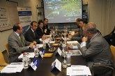 Los concejales de Energías Alternativas y Fomento y Empleo de Totana han participado en Lorca en la presentación del estudio Oportunidades de negocio de la comarca del Guadalentín