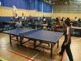Primera jornada de Tenis de Mesa del Campeonato de Promoción Deportiva de la Región de Murcia
