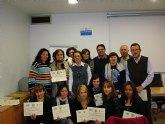 El concejal de Nuevas Tecnologías clausura las actividades formativas impartidas en el aula informatica de Participacion Ciudadana