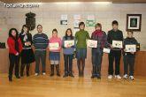 Entregan los premios del II concurso de carteles contra la violencia de g�nero dirigido a los j�venes de 12 a 18 años de los centros educativos - 12