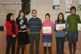 Entregan los premios del II concurso de carteles contra la violencia de g�nero dirigido a los j�venes de 12 a 18 años de los centros educativos - 13