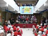 El alcalde de mazarrón felicita la Navidad a los más pequeños