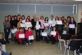 Finalizan dos de los cursos organizados por el Ayuntamiento para la formaci�n de las mujeres