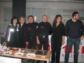 Protección Civil de Totana felicita la Navidad y el año nuevo a la dirección general de Emergencias de la región de Murcia (112)
