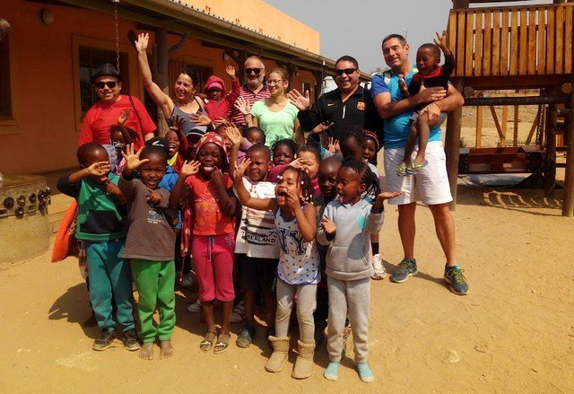 Neighbors of the Guadalentín region render accounts of the solidarity trip to Namibia and South Africa - 1