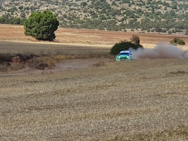 Juan Carlos Quintana y Yeray Mujica terceros en el tramo de tierra Daroca - 2, Foto 2